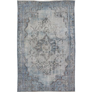 "Vintage Turkish Overdyed Rug - 5'11"" x 9'6"""