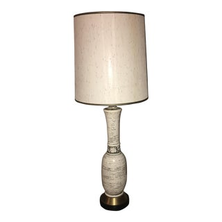 Black & White Detailed Lamp