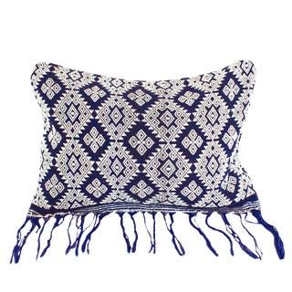 Indigo Sumba Island Ikat Pillow Cover