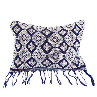 Indigo Sumba Island Ikat Pillow Cover