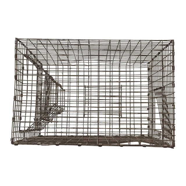 Vintage Wire Fishing Trap