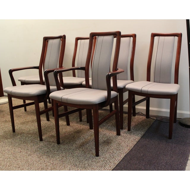 Danish Modern Dining Chairs: Danish Modern Mobler Rosewood Dining Chairs