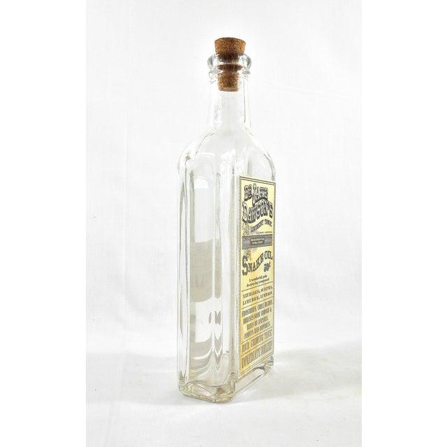 Vintage Snake Oil Remedy Bottle – Decorative Antique Remedy Bottle - Image 3 of 5