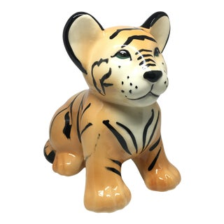 Calif USA Made Ceramic Tiger Cub
