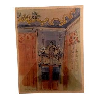 Raoul Dufy 1938 Aquatint Etching