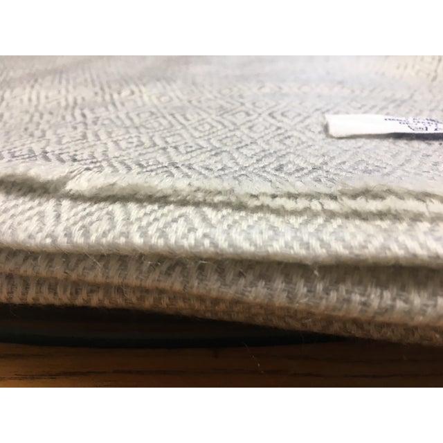 Diamond Design Cashmere Blend Blanket - Image 4 of 9