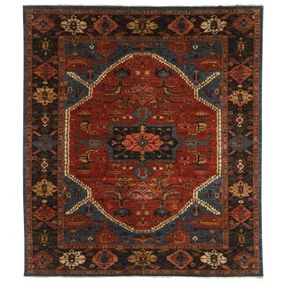 "Serapi Wool Area Rug- 8' 9"" x 11'11"""