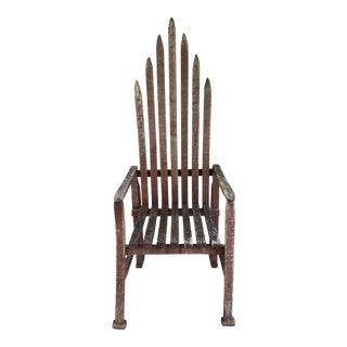 Early 20th Century American Folk Art Chair