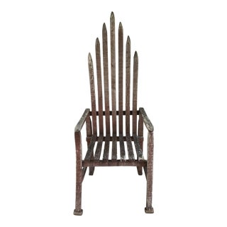 Early 20th Century American Folk Art Chair