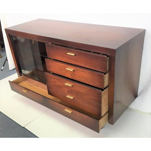 Image of American Petite Mahogany Server