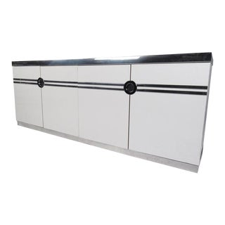 Contemporary Modern Storage Credenza by Pierre Cardin