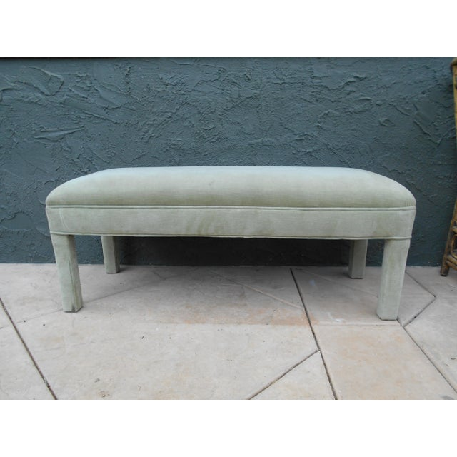 Upholstered Parsons Bench - Image 2 of 7