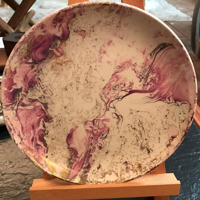 Midcentury Sasha Brastoff Ceramic Plate - Image 2 of 7