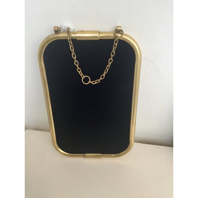 Art Deco Brass Mirror - Image 4 of 5
