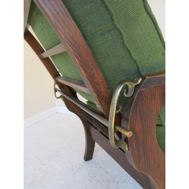 Image of Antique Empire-Style Morris Lounge Chair