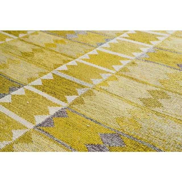 Vintage Ingrid Dessau Flat-Weave Swedish Carpet - Image 2 of 7