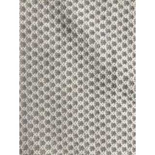 Chunky Knit Grey Ivory Home Decor Fabric