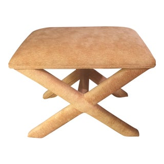 X Form Ottoman Bench