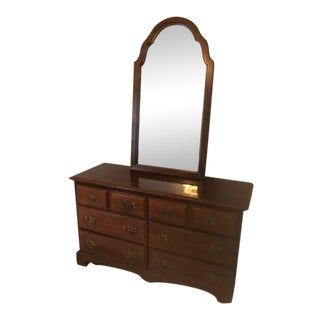 Stanley Furniture Dresser & Mirror