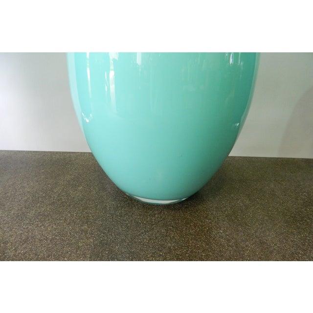 Seafoam Glass Table Lamp - Image 3 of 4