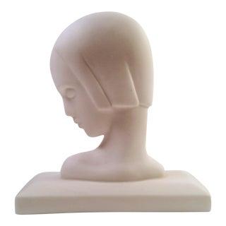 Art Deco Lenox Bisque Bust