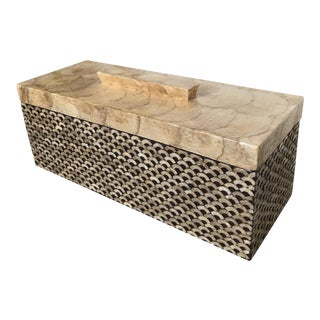 Capiz Shell Inlay Large Box