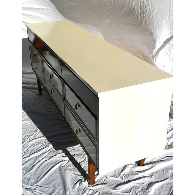 Image of Lacquered Dixie Mid-Century Triple Dresser