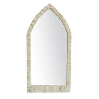 Moorish Arched Bone Mirror