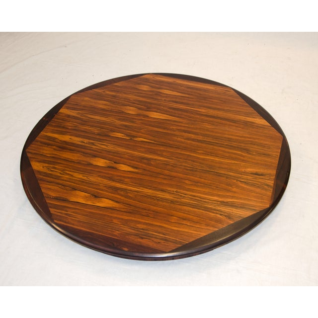 Danish Round Rosewood Dining Table by Moller - Image 3 of 7