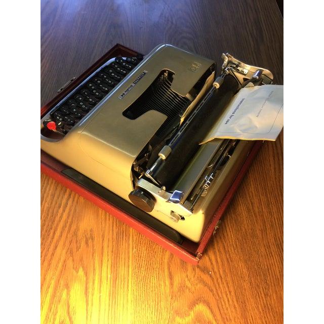 Olivetti Mid-Century Typewriter - Image 3 of 5