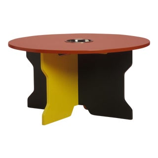 Multi-Colored Round Children's Table