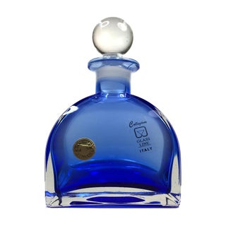 Vintage Italian Lead Crystal Perfume Bottle