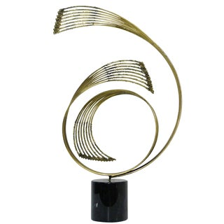 Curtis Jere Swiriling Table Sculpture