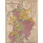 Image of Antique Map of Northern Europe