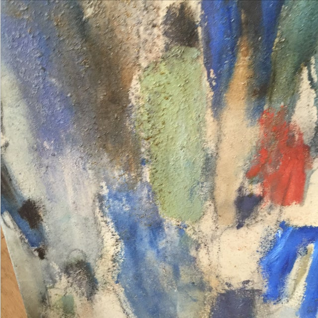 Image of Trung Quoc Tram 'Protest' Abstract Painting