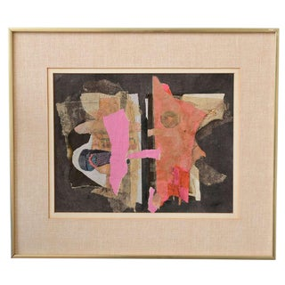 Fabulous Mixed Media Fitzia Abstract Collage Work Of Art