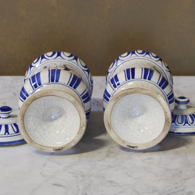 Vintage Italian Apothecary Jars - A Pair - Image 6 of 8