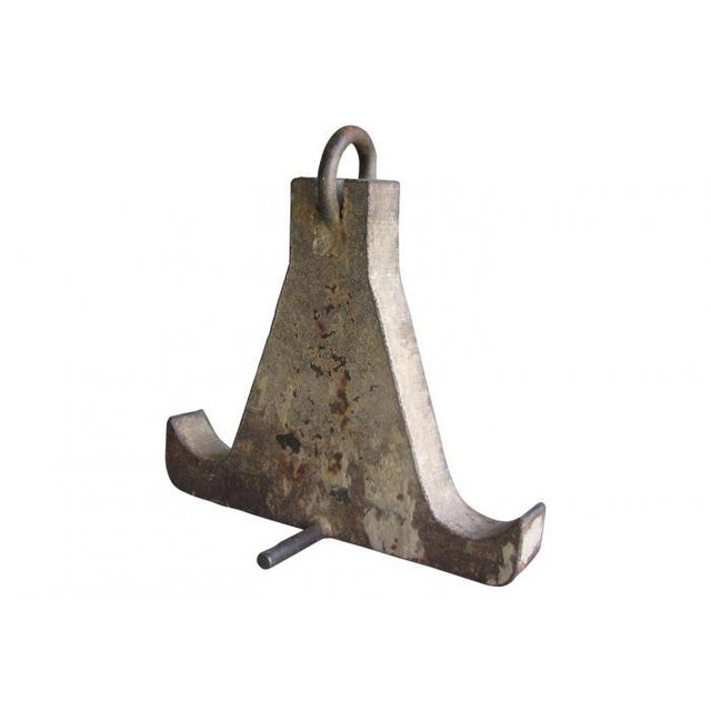 Sculptural Cast Iron Anchor - Image 1 of 4