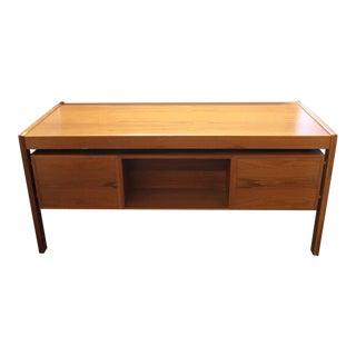 Stylish Mid-Century Danish Executive Desk by Dyrlund