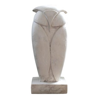 1970s Vintage Owl Sculpture