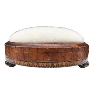 Louis XIV Style Inlaid Footstool