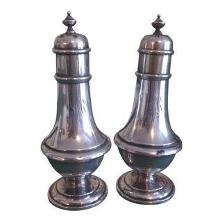 Sterling Salt & Pepper - A Pair