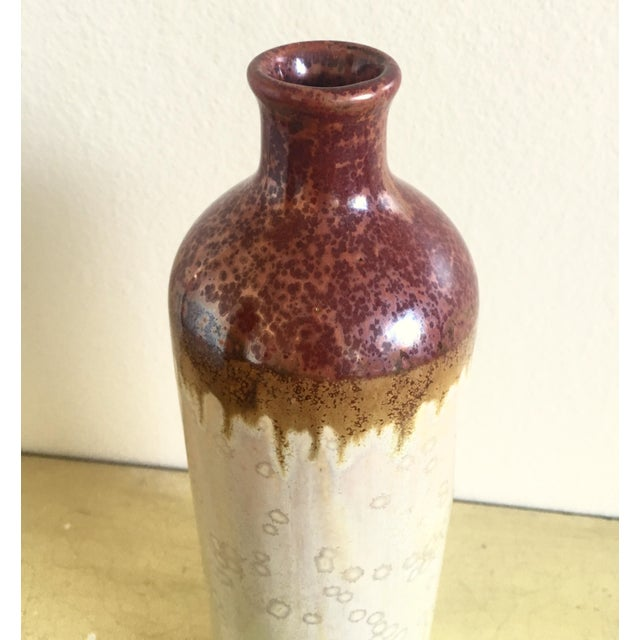 Tall Bohemian Earth Stoneware Vase - Image 3 of 3
