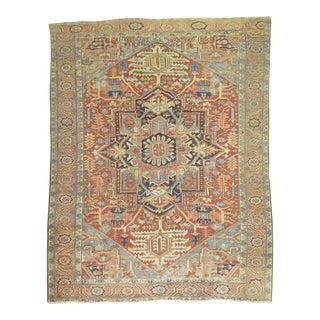 Antique Persian Heriz Carpet - 8'9'' X 11'8''