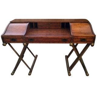 Drexel Mid Century Modern Roll Top Desk