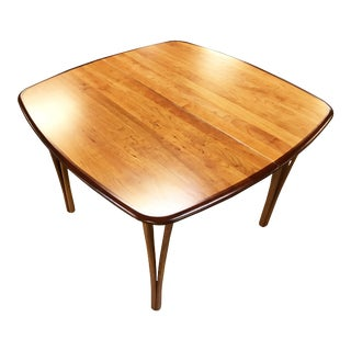 1960's Restored Haslev Mobler Danish Expandable Dining Table