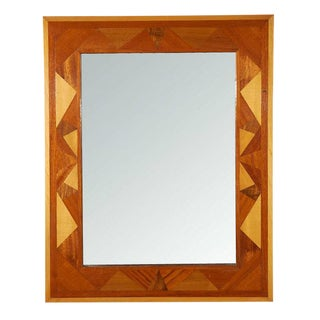 Folk Art Wall Mirror