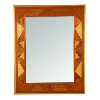 Folk Art Wall Mirror
