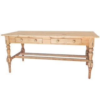 French Pine Work Table