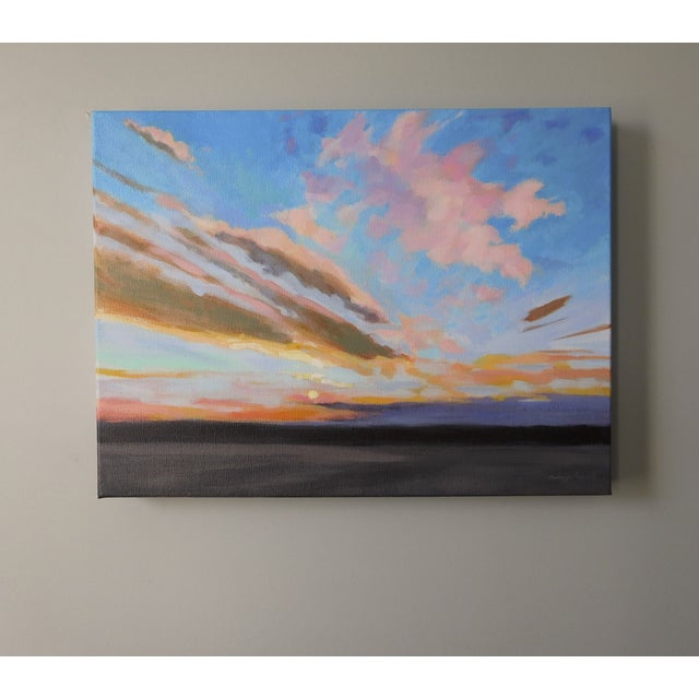 """Sunrise"" Original Painting A.Carrozza Remick - Image 5 of 7"